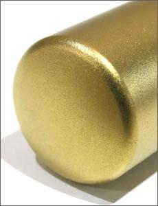 ゴールドチタン印鑑の天